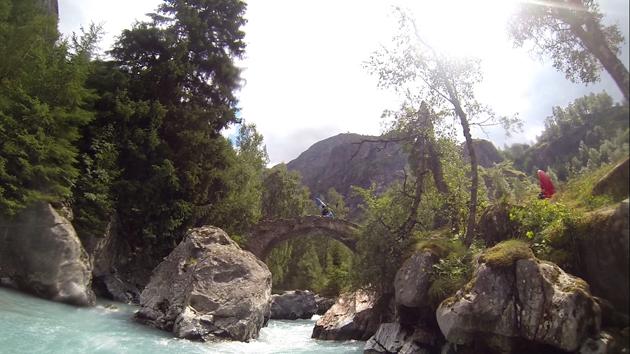 Pont-de-la-Lavey